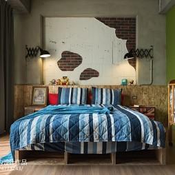 LOFT风格卧室