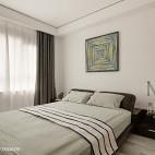 小户型现代简约卧室效果图