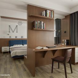 卧室隔断书桌