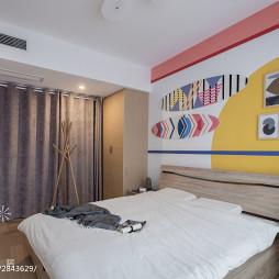家居卧室床头背景墙设计