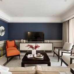 美式四居室客厅设计大全