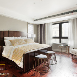 美式卧室床