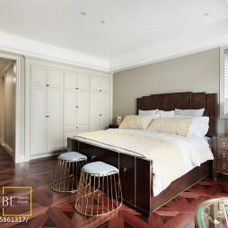 美式卧室床头柜