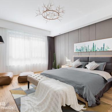 现代北欧风卧室装修