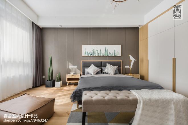 现代北欧风卧室装饰
