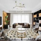 现代北欧风客厅地毯