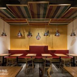 木马勺主题餐厅卡座