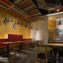 木马勺主题餐厅吊灯