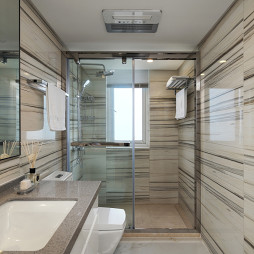 清爽卫浴设计