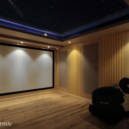 别墅视听室设计