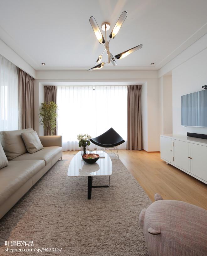 现代风格客厅地毯