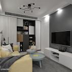 客厅白色电视柜