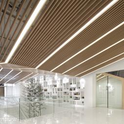 教育机构大厅吊顶设计