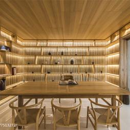 现代别墅书房