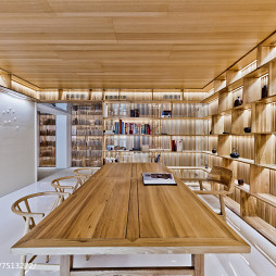 家庭住宅书房效果图