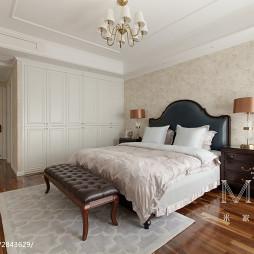 美式卧室衣柜图片