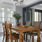 北欧餐厅实木桌椅