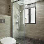 北欧风格淋浴房隔断