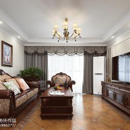简约美式客厅装修