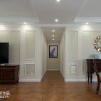 美式风格三居室过道效果图大全