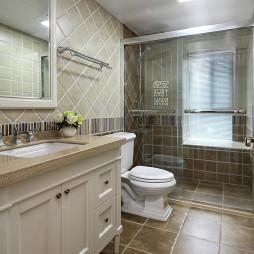 温馨美式卫浴