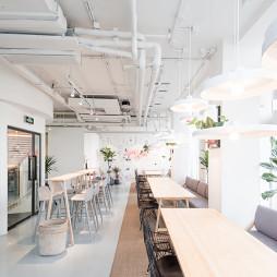 咖啡厅座位区