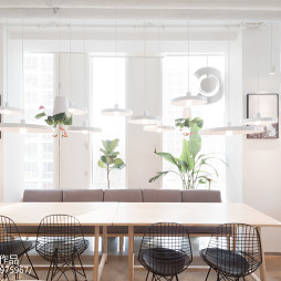 咖啡厅座位区装饰