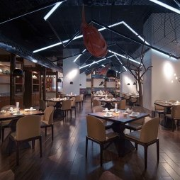 中餐厅大厅设计