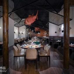 现代中餐厅就餐区