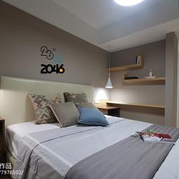 简约卧室置物架
