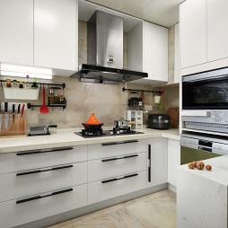 纯白厨房设计案例