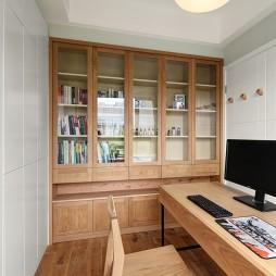 原木书房设计案例
