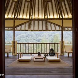 生态度假酒店休闲区