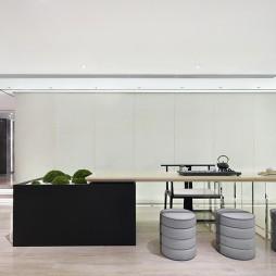 现代中式开放式书房设计