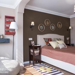美式卧室背景墙装饰