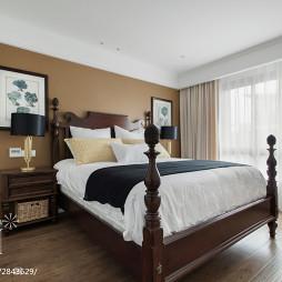 卧室床头背景墙挂画
