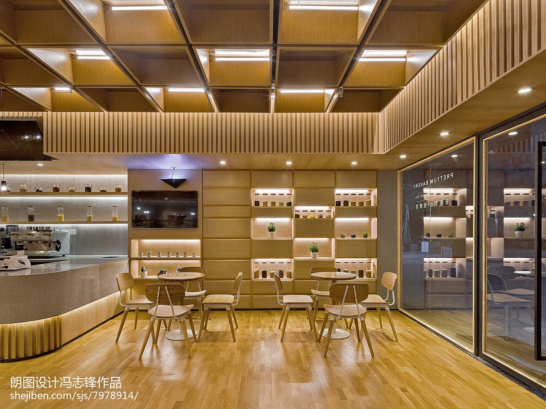 面包店休闲区设计