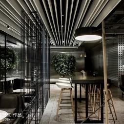 电竞馆吧台设计