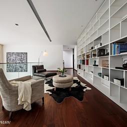 书房白橡木书架