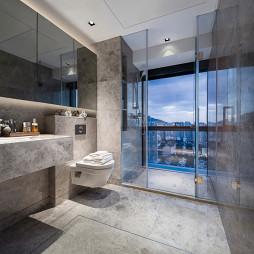 精致现代卫浴设计