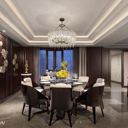 中式样板房餐厅