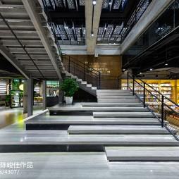 星空书店楼梯装修