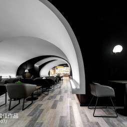 太空咖啡馆效果图