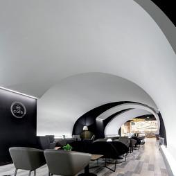 太空咖啡馆桌椅布置