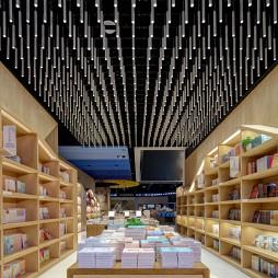 书店创意吊灯吊顶