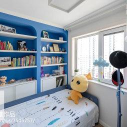 儿童房兼书房装修