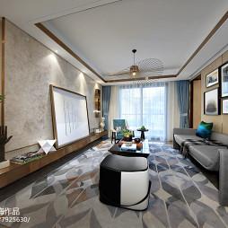 样板间客厅地毯