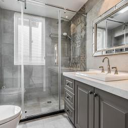 美式卫浴淋浴隔断设计