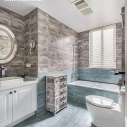 舒适美式卫浴装修