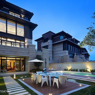 别墅庭院休闲区设计